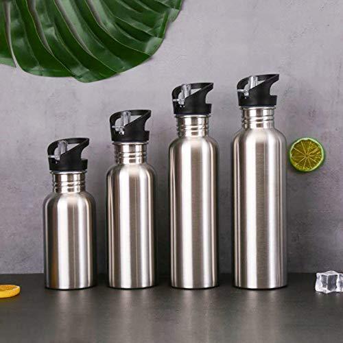 YOUNGE - Botella de agua para deporte de acero inoxidable (1000 ml)