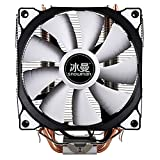 DP-iot HOT-Snowman CPU Cooler Master 5 Direct Contact Heatpipes Freeze Tower Cooling System CPU Cooling Fan with PWM Fans
