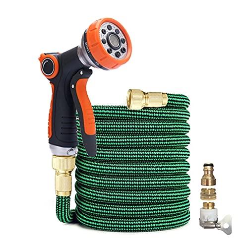 """Tuinslang Hogedruk Tuinslang Water Set Watering Irrigatie Plastic Uitbreidbare Slang Car Wash Spray Cleaning Tools (Color : BW10, Diameter : 1/2"""")"""