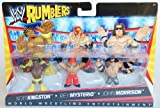 Mattel, WWE, Rumblers Mini Figures [Kofi Kingston, Rey Mysterio, and John Morrison] by Mattel...