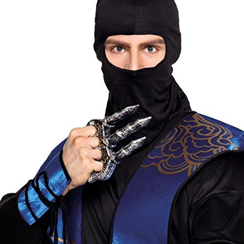Amakando Sub Zero Klaue - 20 cm - Handkrallen Shuko Mortal Combat Krallenhand Ninjutsu Ninjakostüm Zubehör Ninja Kralle