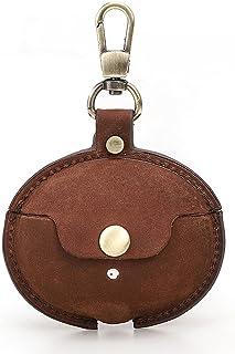 SHURROW Vintage läderfodral, heltäckande skyddsfodral accessoarer hudskydd för -HUAWEI FreeBuds 4i hörlurar laddningsfodra...