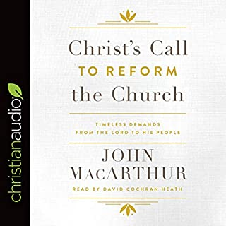 Christ's Call to Reform the Church audiobook cover art