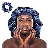 Winitas Satin Bonnet for Black Women Men Curly Hair