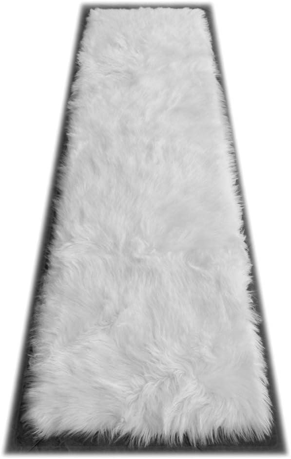 Masada Rugs Faux Sheep Fur Shag List price Runner Super sale 2 7 Rug Feet Area X