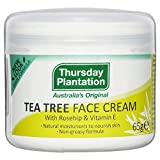 Thursday Plantation Tea Tree Face Cream with Rosehip and Vitamin E - 65 g
