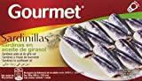 Gourmet - Sardinillas en aceite de girasol, 65 g