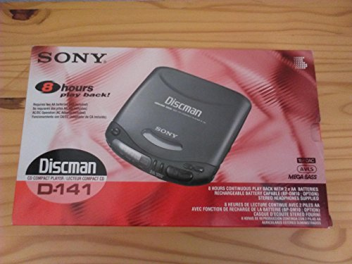 Sony Discman D-141 CD Player