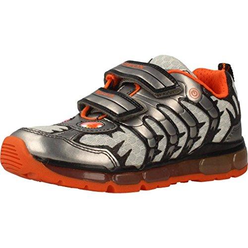Geox Jungen J Android B Low-top Sneaker, Grau (Grey), 30 EU