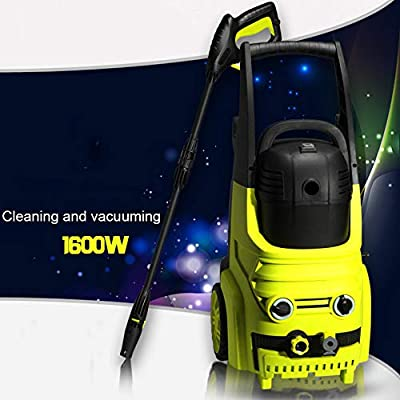 Portable High Pressure Washer 1600W 220V 6.5L/min Car Pump Electric High Pressure Cleaner Waterproofing System Car Washing Machine For Home Garden, Car Washing Machine from SSLL