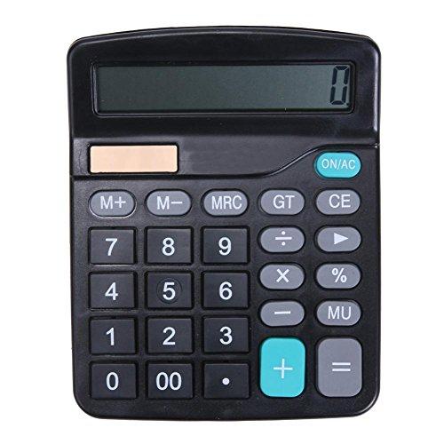 BROADROOT Desktop Calculator 12 Digitale Zonnerekenmachine Standaard Rekenmachine Elektronische Calculator Handheld Calculator voor Basisschool Gebruik voor Office Home School A