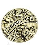 Tempus Fugit Plaque Gold