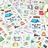 SUNYU Kreative Kawaii selbst gemachte Zeit-Nahrungsmittelaufkleber/schöne Aufkleber/dekorativer...