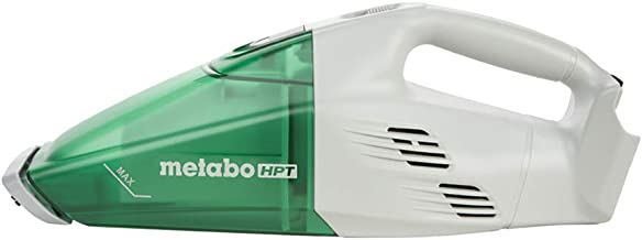 Metabo HPT R18DSLQ4 18V Cordless Lithium Ion Handheld Vacuum, Tool Only - No Battery, Capable of 29 min of Non-Stop Use, Lightweight At Just 3Lbs