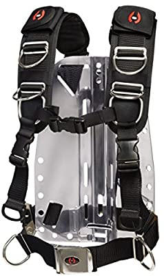 Hollis Elite II BC Harness for Technical Scuba Divers (X-Small/Small)