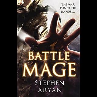 Battlemage audiobook cover art