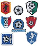 8 Soccer Embroidered Patches Ironing - REF.8189-U8