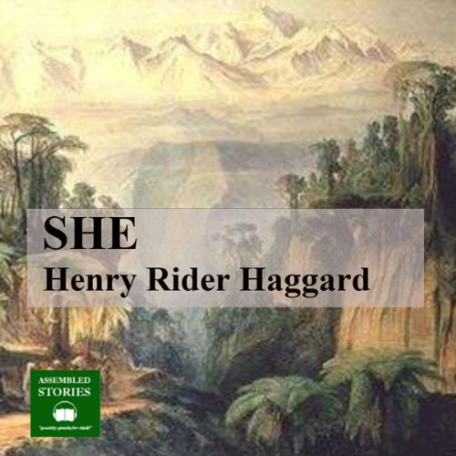 She                   By:                                                                                                                                 Henry Rider Haggard                               Narrated by:                                                                                                                                 Peter Joyce                      Length: 12 hrs and 14 mins     21 ratings     Overall 4.0