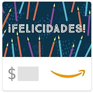 Amazon eGift Card - Velas de Cumpleaños (B01M2XHUU8) | Amazon price tracker / tracking, Amazon price history charts, Amazon price watches, Amazon price drop alerts