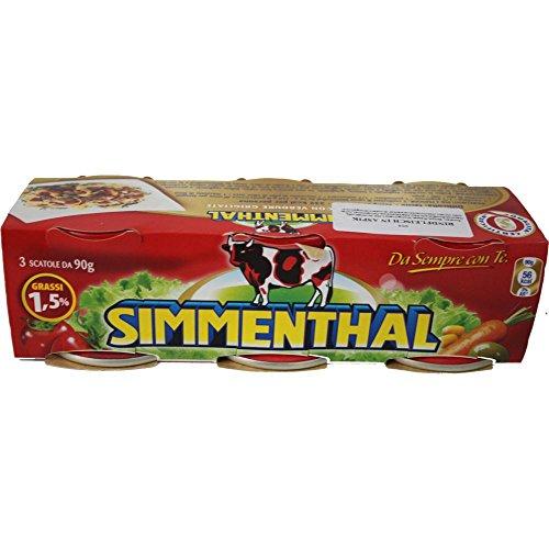 SIMMENTHAL Rindfleisch in Aspik (3x90g Dose)