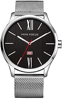 Mini Focus Mens Quartz Watch, Analog Display and Stainless Steel Strap - MF0018G.03