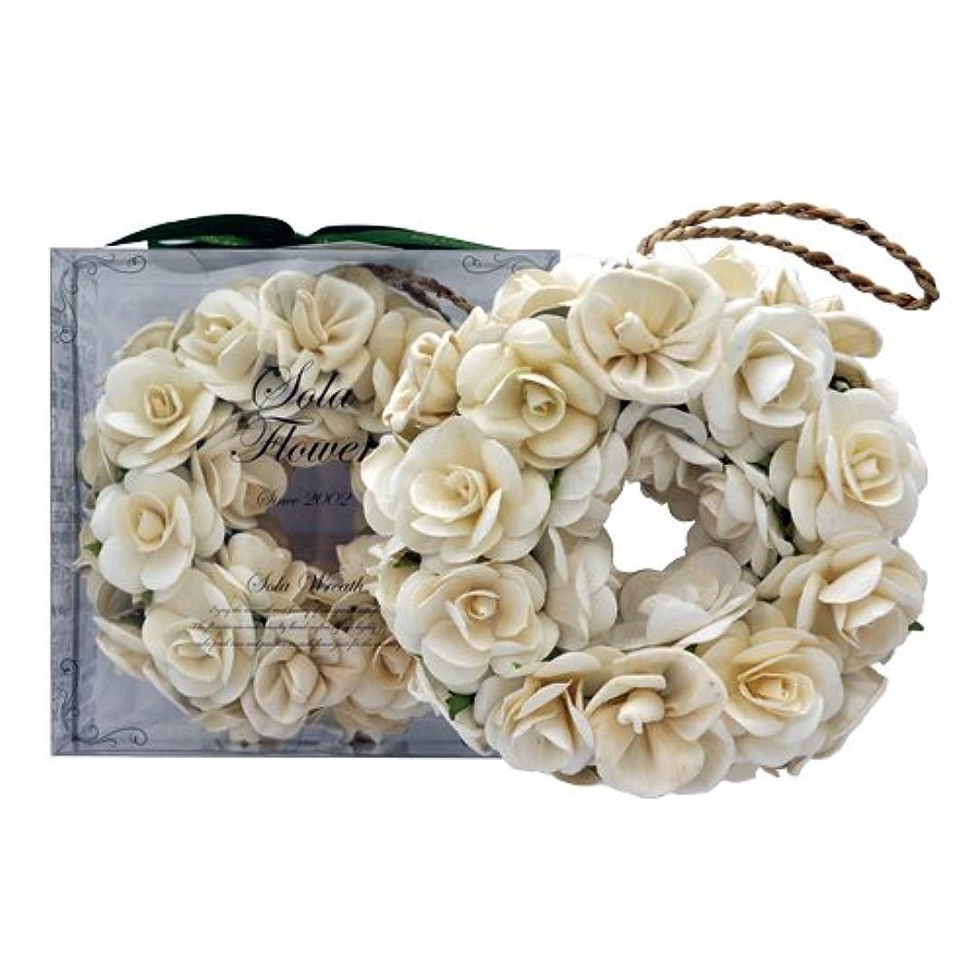 小競り合いアトムバーnew Sola Flower ソラフラワー リース Gentle Rose ジェントルローズ Wreath