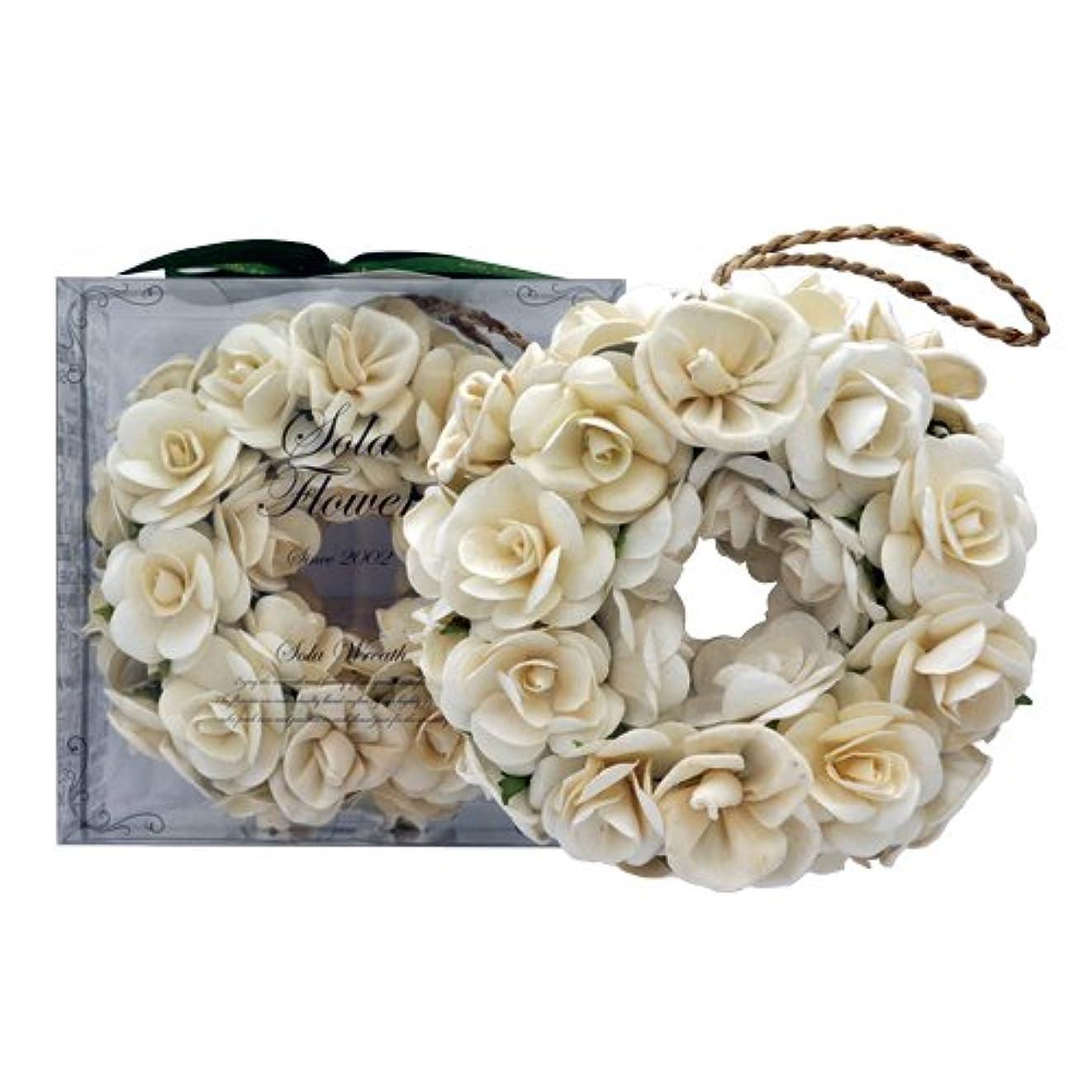 真面目なしかしながら気晴らしnew Sola Flower ソラフラワー リース Gentle Rose ジェントルローズ Wreath