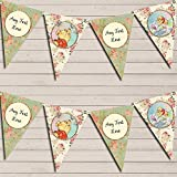 Winnie The Pooh Banner Children's Party Personalised Bunting Decoration Banner Garland