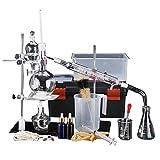 Equipo de destilación de aceite esencial total de laboratorio nuevo Lchzl, kits de purificador de destilador, cristalería