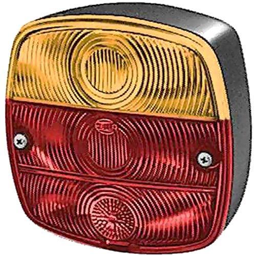HELLA 2SD 002 514-161 Heckleuchte - P21W/R10W - Anbau - Einbauort: links/rechts