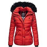 Navahoo warme Damen Winter Jacke Parka Mantel...