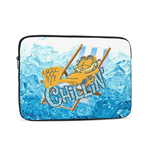 Garfield Laptop Sleeve Case Classic Notebook Computer Bag Slim Tablet Briefcase Business Travel Outdoor Black 13 inch