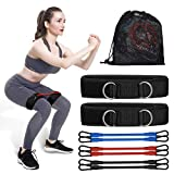 TINMIU Resistance Bands for Women Butt and Legs, Professional Workout Bands, Non-Slip Exercise Loop Bands, for Home Fitness, Stretching, Strength Training, Physical Therapy and More