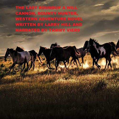 The Last Roundup audiobook cover art