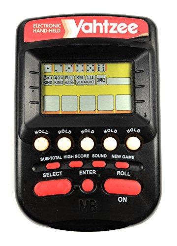 Yahtzee Handheld Electronic Game (1995) by Yahtzee