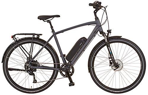 "Prophete Herren ENTDECKER 20.EST.10 Trekking E-Bike 28\"" BLAUPUNKT HR-Motor, grau, RH 52"