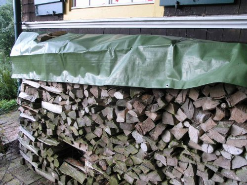 Holz-Abdeckplane Easy 90g/m² ca.1,50 x 6 m