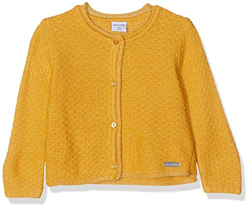 Absorba 7p18021-ra Veste Chaqueta Punto, Amarillo (Ocher 75), 18-24 Meses (Talla del Fabricante: 6M) para Bebés