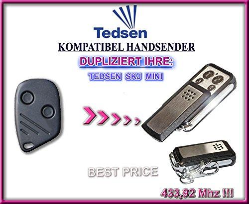Tedsen SKJ MINI kompatibel handsender, klone fernbedienung, 4-kanal 433,92Mhz fixed code. Top Qualität Kopiergerät!!!