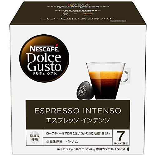 ネスカフェ ドルチェグスト 専用カプセル エスプレッソインテンソ 16杯分