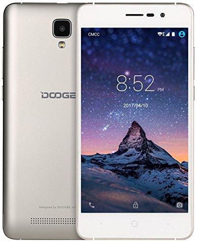 Doogee X103G Dual UK SIM-Free Smartphone–Goud