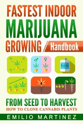 Fastest Indoor Marijuana growing Handbook: From Seed to Harvest - How to Clone Cannabis Plants