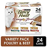 Purina Fancy Feast Gravy Wet Cat Food Variety...