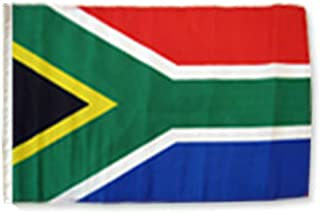 ALBATROS 12 inch x 18 inch South Africa African Sleeve Flag for use on Boat, Car, Garden for Home and Parades, Official Party, All Weather Indoors Outdoors