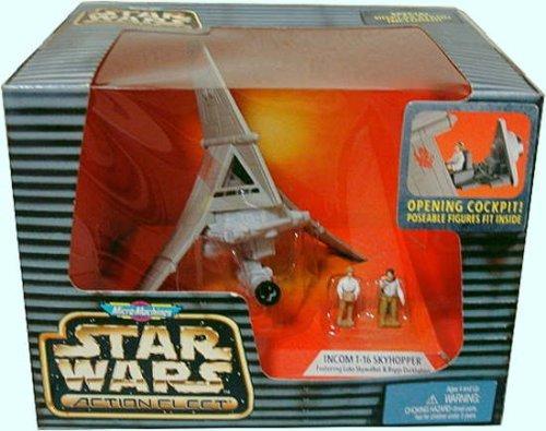 Star Wars Action Fleet T-16 SKYHOPPER Rare Micro Machines Set