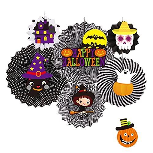 xllLU Colgante de pared de Halloween con diseño de calavera, murciélago de bruja y esqueleto para decoración de fiesta de fantasma