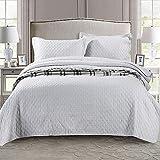 Colcha acolchada de 3 piezas, colcha de retazos, bordado, juego de cama americano, colchas dobles, edredón, fundas de almohada, multipropósito, cómodas mantas, sábanas, reina: 230 * 250 cm * 1 + 50 *