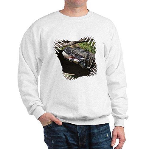 CafePress - Spitzen-Monitor - Klassisches Sweatshirt mit Rundhalsausschnitt Gr. M, weiß