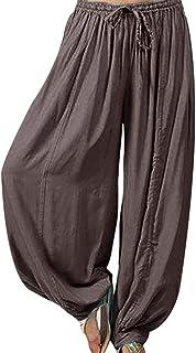 Women Casual Baggy Boho Gypsy Yoga Aladdin Harem Pants Trousers Hippy Pants Jumpsuit