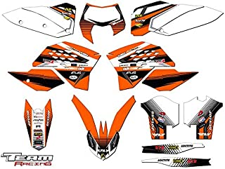 Team Racing Graphics kit compatible with KTM 2008-2011 EXC, ANALOGComplete kit